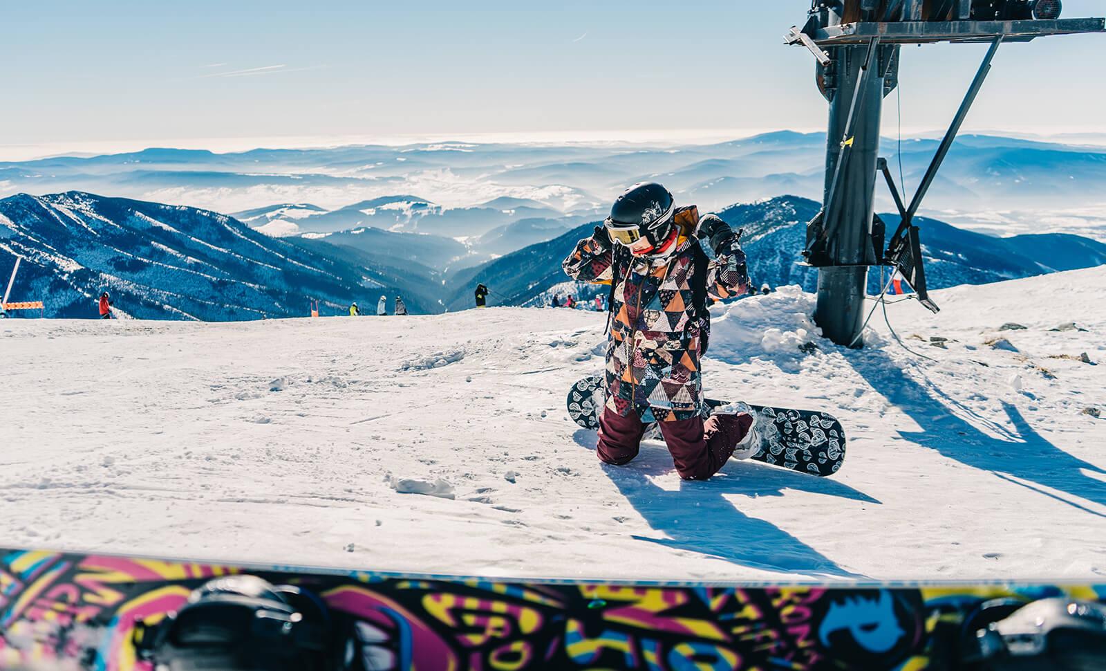 Snowboard felszerelés bérlés