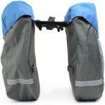 Racktime kerékpáros csomagtartó táska hátsó 24,5 literes oldal nézet